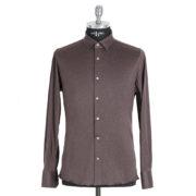 Camicia su misura Polo Marrone