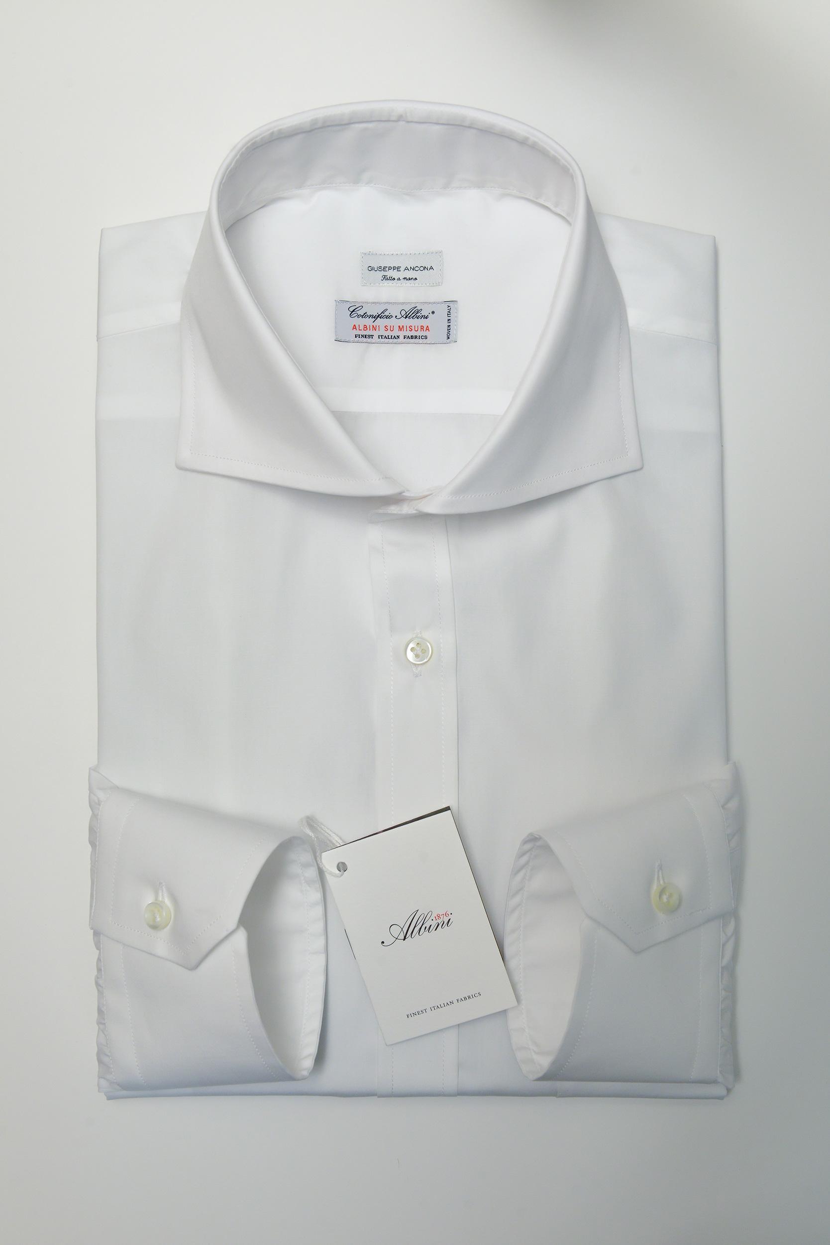 camicia bianca collo extra