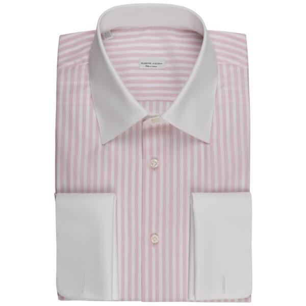 Camicia su misura iconica a righe   Giuseppe Ancona