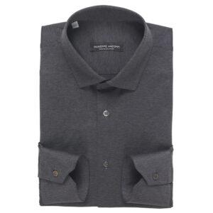 Camicia Polo in cotone jersey